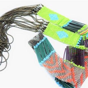 Designer Necklace Rapsodia Argentina Glass Beads